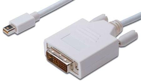 Digitus Kabel DisplayPort/mini-DVI Digitus, 1 m, bel