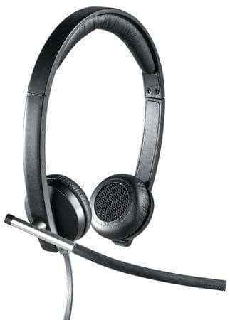 Logitech Słuchawki Logitech USB Headset H650e Stereo