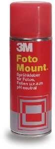 3M Lepilo v razpršilu Mount Foto