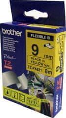 Brother Trak Brother TZEFX621 Flexi rumen/črn 9mm