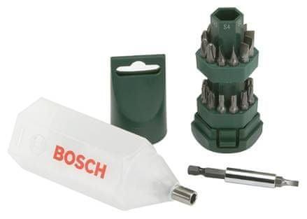 Bosch 25 dílná sada šroubovacích bitů ,,Big Bit