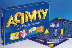 Piatnik družabna igra Activity Vse je mogoče SLO
