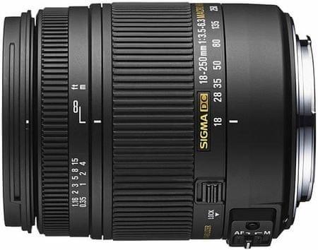 Sigma Objektiv 18-250 mm F3,5-6,3 DC OS N/AF HSM Macro za Nikon