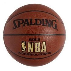 Spalding Žoga za košarko NBA Gold