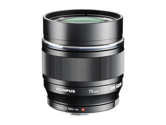 Olympus objektiv 75 mm M.Zuiko Digital f/1,8 Black