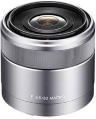 Sony 30 mm F3,5 (SEL-30M35) + Cashback 600 Kč!