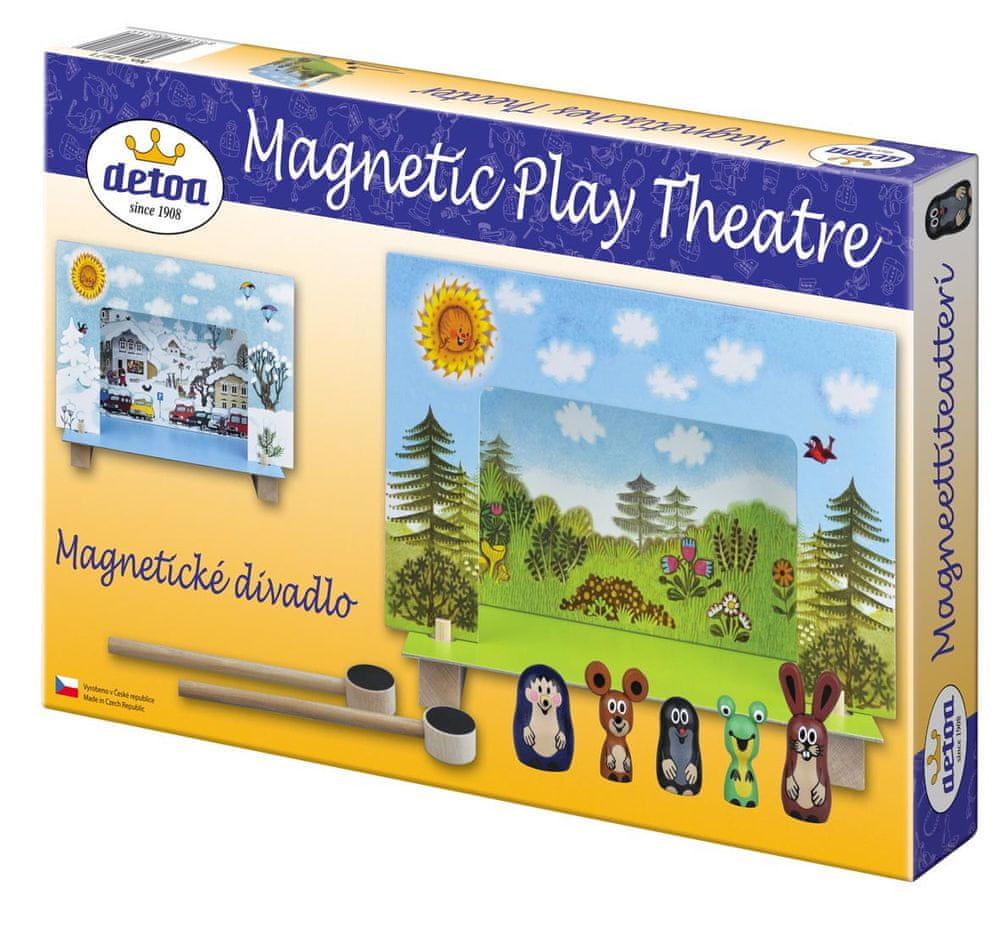 Detoa Krtek magnetické divadlo