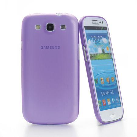 Muvit Ohišje iMATT Samsung Galaxy S III, vijolično
