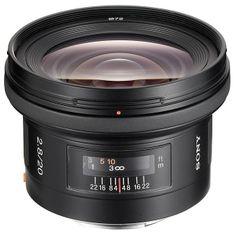 Sony objektiv SAL 20 mm F2,8, SAL20F28