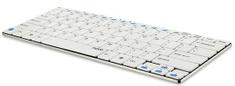 Rapoo E6100 Vezeték nélküli billentyűzet, Fehér