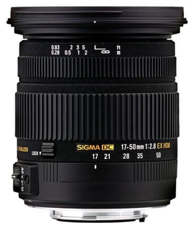Sigma Objektiv 17-50 mm F2.8 EX HSM DC OS za Nikon