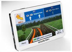 """Navon N670 PLUS, Fehér, 5"""" iGO8 GPS, Magyarország térképpel"""