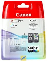 Canon komplet kartuš PG-510 in CL-511
