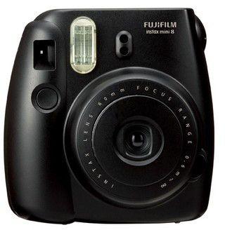 FujiFilm Instax Mini 8 Analóg fényképezőgép, Fekete