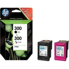 HP komplet kartuš 300, črna,modra, rumena, rdeča