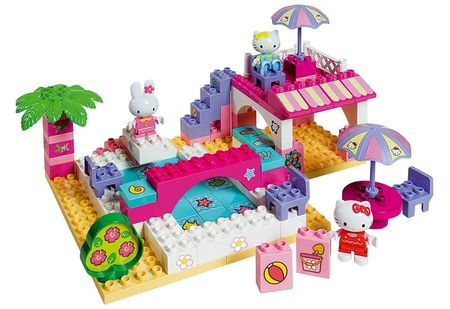 BIG Kocke PlayBig Bloxx Hello Kitty počitnice