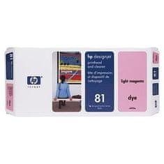 HP Tiskalna glava in čistilo C4955A Light Magenta #81