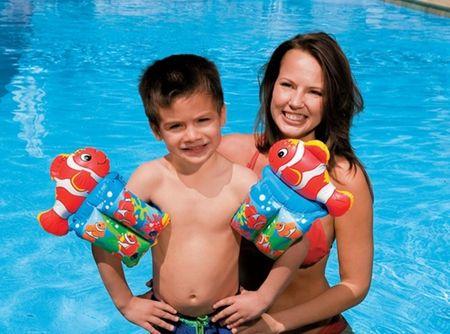 Intex otroški rokavčki Klovn Riba