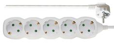 Emos podaljšek 3 m, 5 vtičnic (P0523)