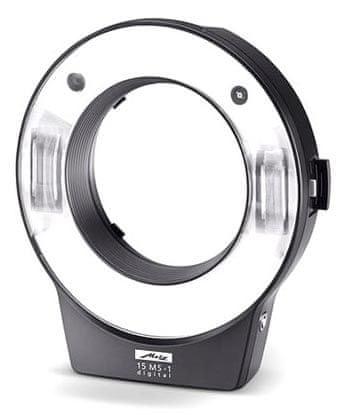 Metz 15 MS-1 Digital Kit + 6x redukční kroužek a 1x synchro kabel ZDARMA!