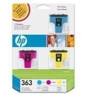 HP Inkoustová náplň HP 363 (CB333EE) CMY