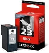 Lexmark Kartuša 18C1523E črna #23