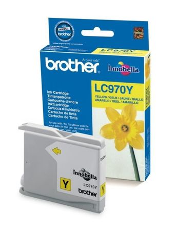 Brother tinta LC970Y Yellow