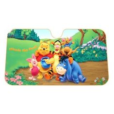Disney Senčilo vetrobranskega stekla Winnie The Pooh