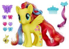 My Little Pony Kucyk Fluttershy z ozdobami