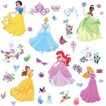 Disney Stenska dekoracija Princeske, 46 cm