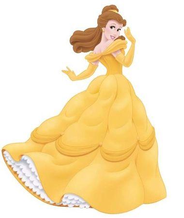 Disney Stenska dekoracija Princeska Belle, 96,5 cm