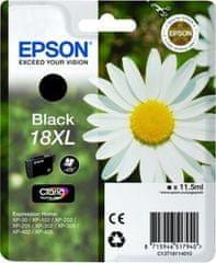 Epson Kartuša T1811 XL Black, 470 strani
