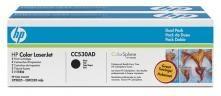 HP Toner CC530AD črn, dvojno pakiranje, 2x3.500 strani