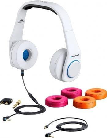 Blaupunkt slušalke Style, bele