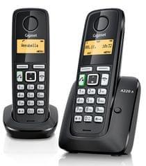 Gigaset Brezvrvični telefon A220A Duo