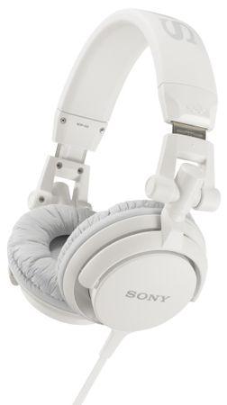Sony slušalke MDR-V55/W, bele