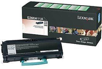Lexmark Toner E260A11E 3500 strani