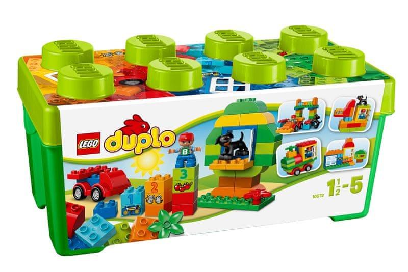 LEGO DUPLO® Kostičky 10572 Box plný zábavy
