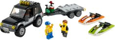 LEGO City 60058 Terenówka ze skuterami