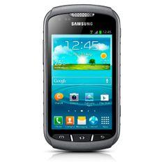 Samsung GSM telefon Galaxy Xcover II S7710, titan siv
