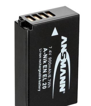 Ansmann Baterija EN-EL20, 900 mAh, za Nikon