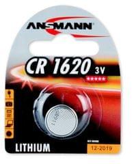 Ansmann Baterija CR1620, 1 kos
