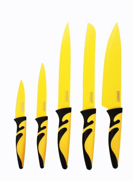 Banquet 5 dílná sada nožů SYMBIO NEW Giallo