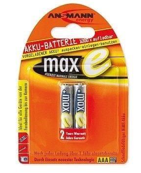 Ansmann Baterija maxE NiMH 2 x AAA 800mAh