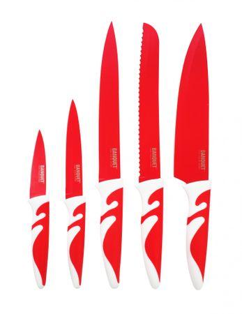 Banquet 5 delni set nožev Symbio New Rosso