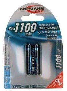Ansmann baterija Micro 2 x AAA 1100mAh