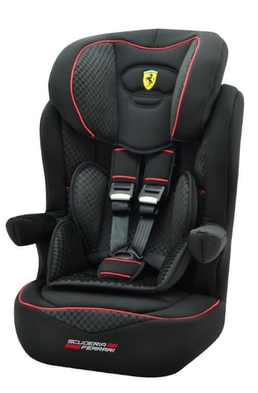Ferrari Fotelik samochodowy I-max SP Isofix 9-36 kg, GT Black, DOSTAWA GRATIS, BEZPŁATNY ODBIÓR: WROCŁAW!