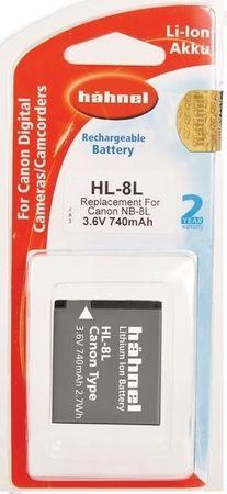 Hähnel Baterija Hahnel Li-Ion NB-8L (HL-8L), za Canon