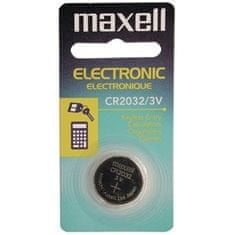 Maxell Baterija CR2032, 3 V, 1 kos