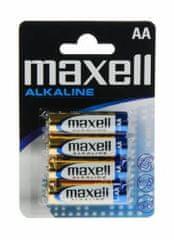 Maxell Baterije LR6 AA, 1,5 V, 4 komada